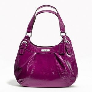Plum purple Coach purse